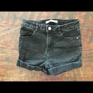Zara high waist shorts